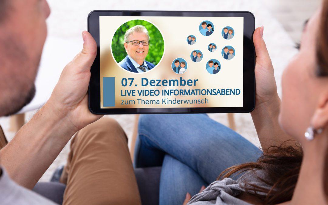 LIVE VIDEO Infoabend