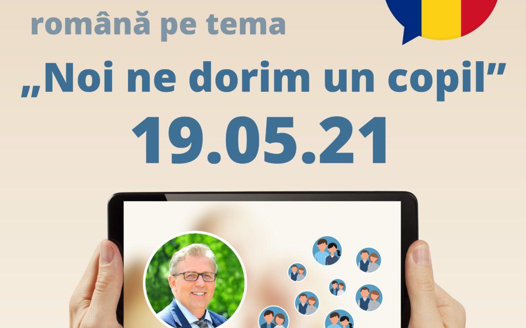 Online-Infoabend auf Rumänisch