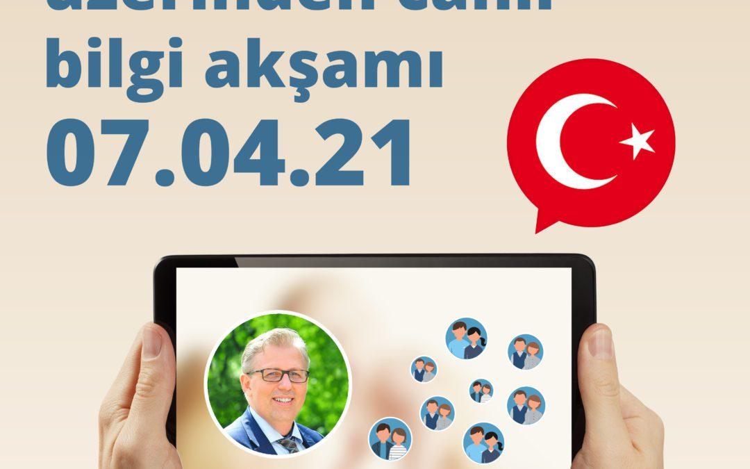 Online-Infoabend auf Türkisch